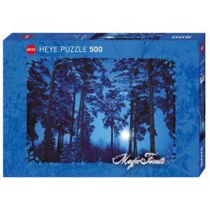 Пъзел Heye от 500 части - Пълнолуние, Магическата гора - Пъзели