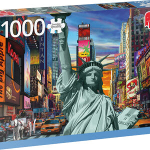 Пъзел Jumbo от 1000 части - Ню Йорк - Пъзели