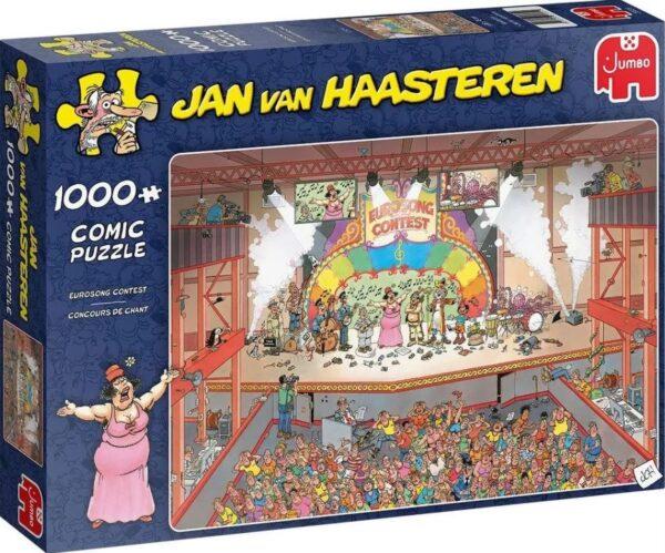 Пъзел Jumbo от 1000 части - Песенен конкурс, Ян ван Хаастерен - Пъзели
