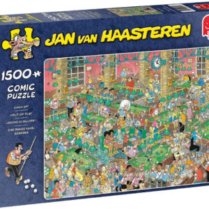 Пъзел Jumbo от 1500 части - Chalk Up, Ян ван Хаастерен - Пъзели