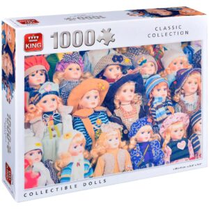 Пъзел King от 1000 части - Порцеланови кукли - Пъзели