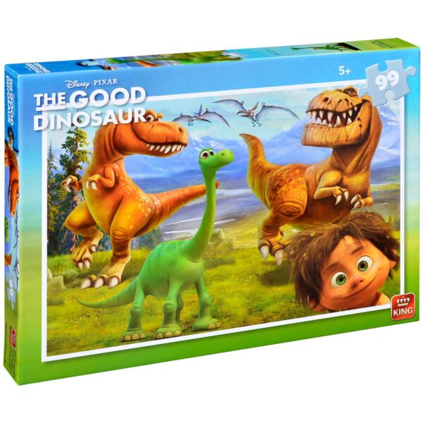 Пъзел King от 99 части - Добрият динозавър - Пъзели