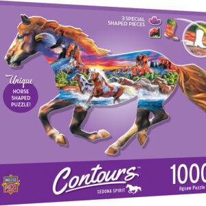 Пъзел Master Pieces от 1000 части - Бягащият кон - Пъзели