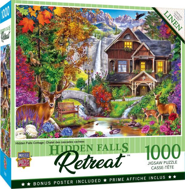 Пъзел Master Pieces от 1000 части - Есенна гора - Пъзели