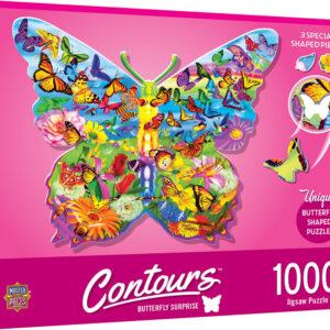 Пъзел Master Pieces от 1000 части - Пеперуда - Пъзели