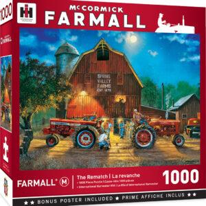 Пъзел Master Pieces от 1000 части - Състезание с трактори - Пъзели