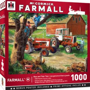 Пъзел Master Pieces от 1000 части - Трактор за всяко момче - Пъзели