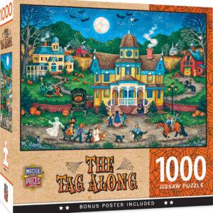 Пъзел Master Pieces от 1000 части - Вечерта на Хелоуин - Пъзели