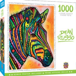 Пъзел Master Pieces от 1000 части - Зебра - Пъзели