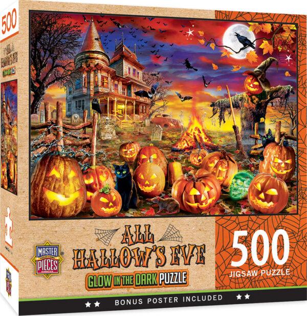 Пъзел Master Pieces от 500 части - Навечерието на Хелоуин - Пъзели
