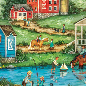 Пъзел Master Pieces от 500 части - Риболов с дядо - Пъзели