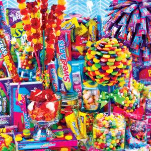 Пъзел Master Pieces от 500 части - Царството на бонбоните - Пъзели