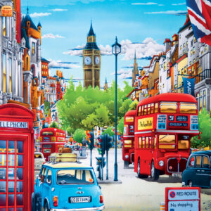Пъзел Master Pieces от 550 части - Лондон - Пъзели