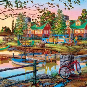 Пъзел Master Pieces от 550 части - Лято край езерото - Пъзели
