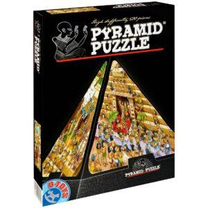 Пирамидален пъзел D-Toys от 500 части - Египет, анимиран - Пъзели