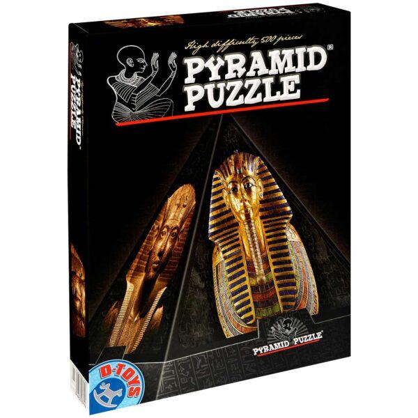 Пирамидален пъзел D-Toys от 500 части - Египет II - Пъзели