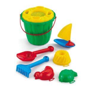 Плажен сет за игра ''Кая'' с лодка - Детски играчки - Играчки за пясък