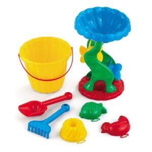 Плажен сет за игра ''Кая'' с мелница - Детски играчки - Играчки за пясък