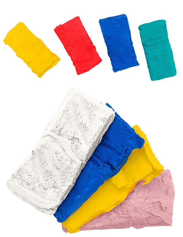 Пластелин за моделиране 4 х 25 г. - Детски играчки - Образователни играчки