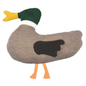 Плетена бебешка играчка Пате - За бебето - Аксесоари за детска стая - Плетени играчки за гушкане