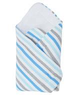 Плетено одеало на райе - За бебето - Аксесоари за детска стая - Завивки / Одеяла