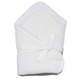 Плетено одеяло за бебета екрю - За бебето - Аксесоари за детска стая - Завивки / Одеяла