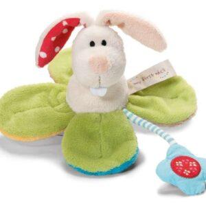 Плюшена бебешка играчка - Зайче - Детски играчки - Плюшени играчки