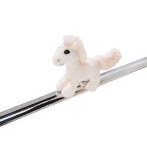 Плюшена играчка - бяло Конче с магнити - Детски играчки - Плюшени играчки