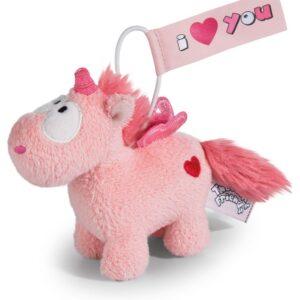 Плюшена играчка Еднорог Merry Heart, 11см. - висулка - Детски играчки - Плюшени играчки