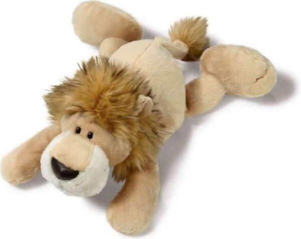 Плюшена играчка - Лъвчето Барду, легнала - Детски играчки - Плюшени играчки
