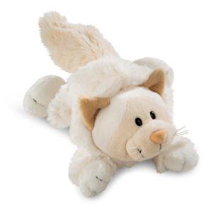Плюшена играчка лежаща - Коте, 20 см - Детски играчки - Плюшени играчки
