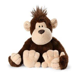 Плюшена играчка Маймунка с касичка - Детски играчки - Плюшени играчки