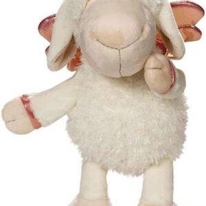Плюшена играчка овцата Jolly - Don't worry be happy - Бяла 35 см - Детски играчки - Плюшени играчки