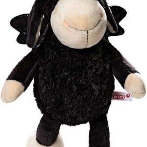 Плюшена играчка овцата Jolly - Don't worry be happy - Черна 25 см - Детски играчки - Плюшени играчки