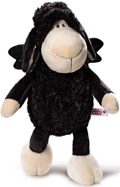 Плюшена играчка овцата Jolly - Don't worry be happy - Черна 45 см - Детски играчки - Плюшени играчки