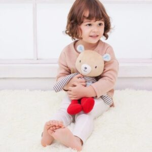 Плюшена играчка за гушкане - Били - Детски играчки - Плюшени играчки - Дървени играчки