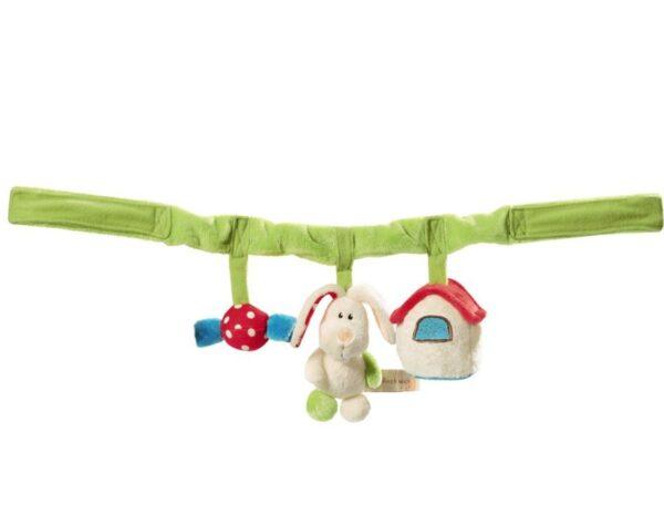 Плюшена играчка за количка - Залъгалка - Детски играчки - Плюшени играчки