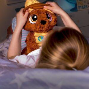 Плюшена играчка за сън - Мечето Toмси - 38 см. - Детски играчки - Плюшени играчки