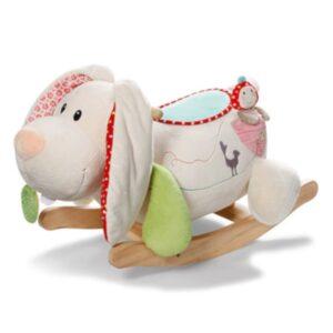 Плюшена люлка - Заека Тили - Детски играчки - Плюшени играчки
