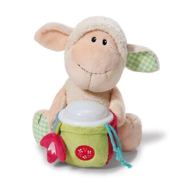 Плюшена овца Мони - детска нощна лампа - Детски играчки - Плюшени играчки