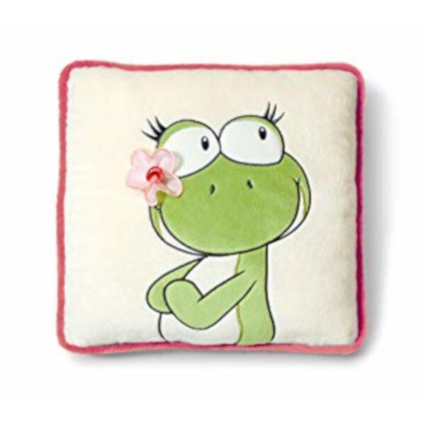 Плюшена възглавничка жабка - За бебето - Аксесоари за детска стая - Възглавници за спане и кърмене