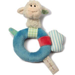 Плюшена залъгалка Овчица - Детски играчки - Плюшени играчки