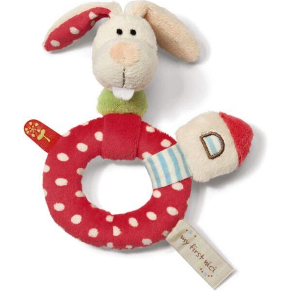 Плюшена залъгалка - Зайче - Детски играчки - Плюшени играчки