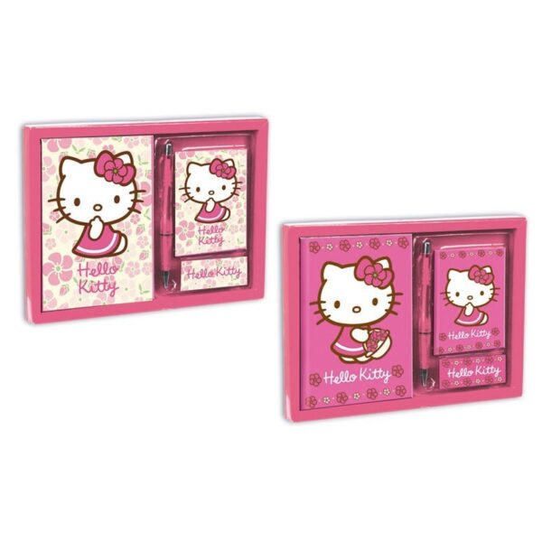 Подаръчен комплект - Hello Kitty - Ученически пособия - Детски дневници - За детето - Hello Kitty