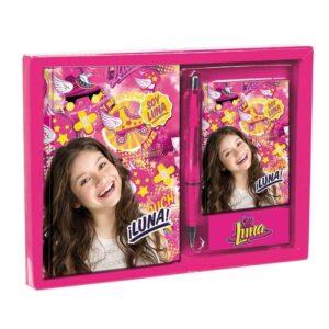 Подаръчен комплект - Сой Луна - Ученически пособия - Детски дневници - За детето - Soy Luna