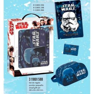 Подаръчен комплект - Star Wars - Ученически пособия - Ученически несесери - За детето - Star Wars
