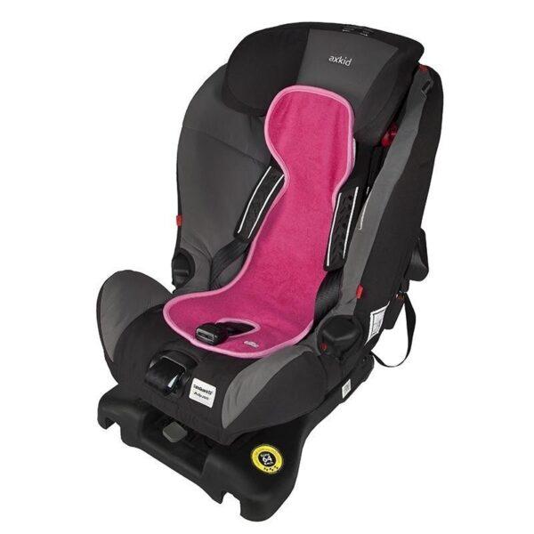 Подложка за столче за кола 0-9 кг. - Розова - Детски и бебешки столчета за кола - Чувалчета и подложки за столчета за кола