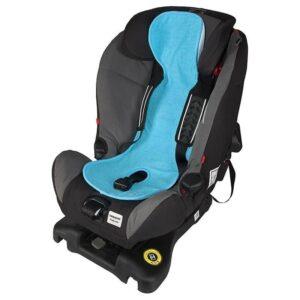 Подложка за столче за кола 0-9 кг. - Синя - Детски и бебешки столчета за кола - Чувалчета и подложки за столчета за кола