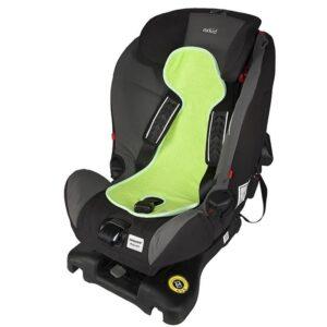 Подложка за столче за кола 9-18 кг. - Светло зелена - Детски и бебешки столчета за кола - Чувалчета и подложки за столчета за кола
