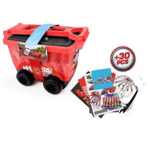 Подвижна кутия за рисуване - Колите Disney - Детски играчки - Образователни играчки - Disney Cars